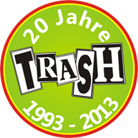 Button: 20 Jahre Trash